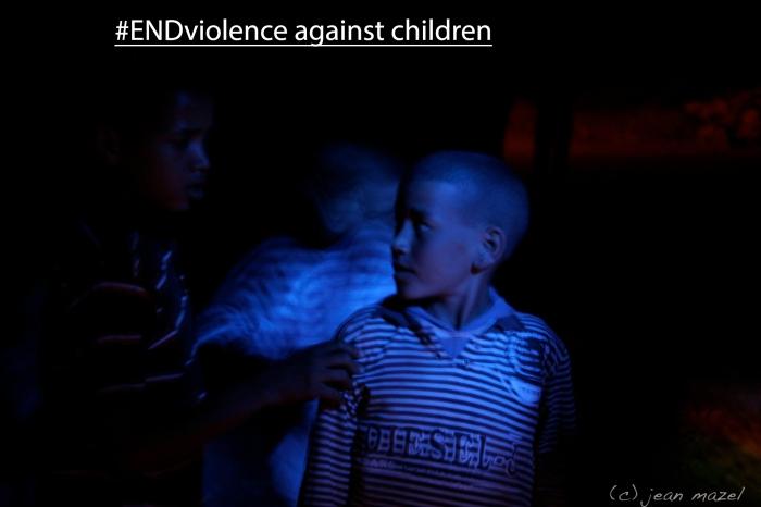 Luttons dés aujourd'hui pour éliminer la violence contre les enfants.