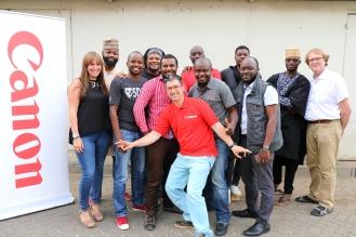 L'équipe des formateurs photo video pro de l'Afrique
