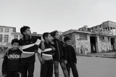 Enfants au Theatre nomade de Casablanca