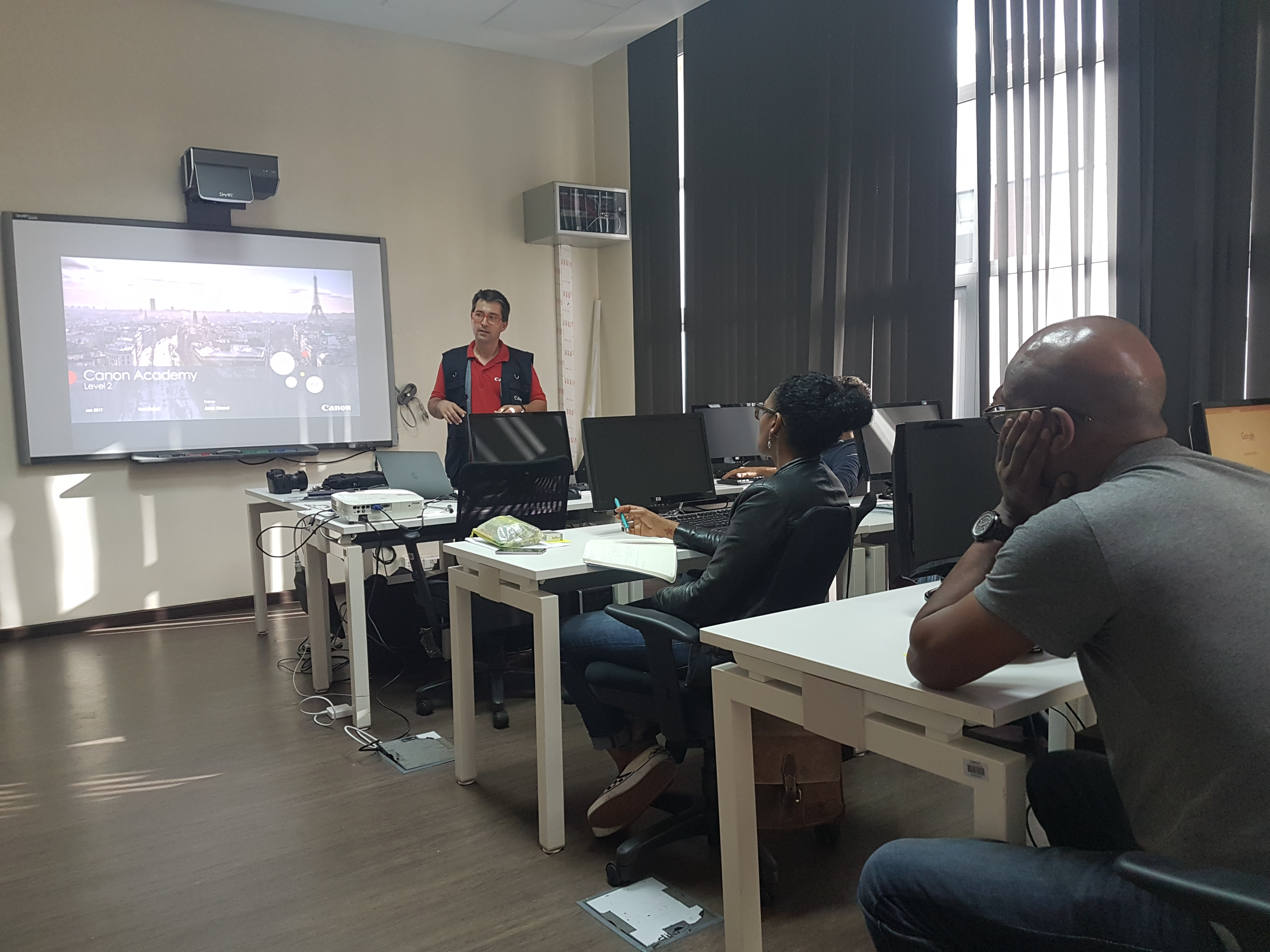 Jean Mazel has trained a new African CANON trainers team in Casablanca
